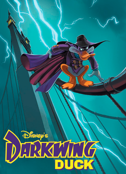 Черный Плащ / Darkwing Duck [S01-03] (1991-1995) WEB-DLRip-AVC | D