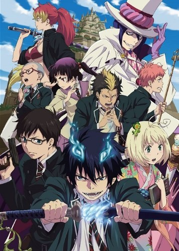 Синий экзорцист / Ao no Exorcist [S01] (2011) BDRip-HEVC 1080p | AniDUB