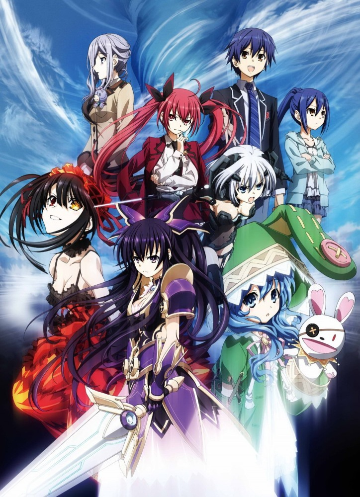 Рандеву с жизнью / Date a Live [S01-03 + Фильм + OVA] (2013-2019) BDRip от Deadmauvlad | Director's cut | AniDub, StudioBand