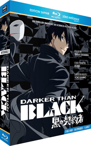 Темнее чёрного / Darker than Black [S01-02+Спешелы] (2007-2010) BDRip от Deadmauvlad | L2 | Animedia