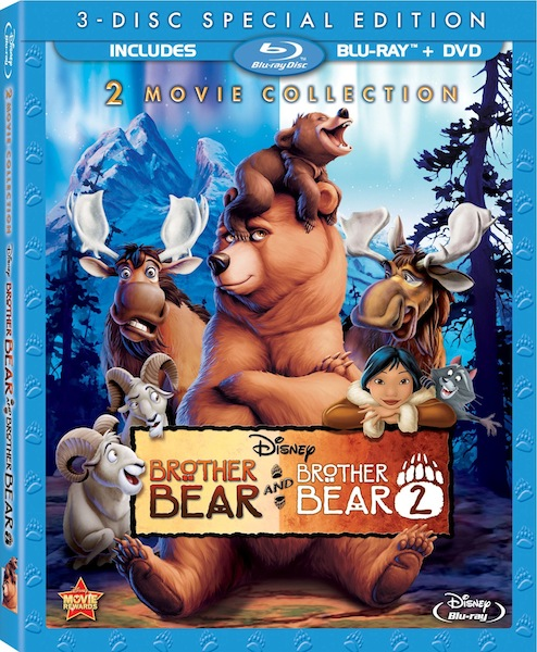 Братец медвежонок 2: Лоси в бегах / Brother Bear 2 (2006) BDRip 720p от Leonardo and Scarabey | Лицензия