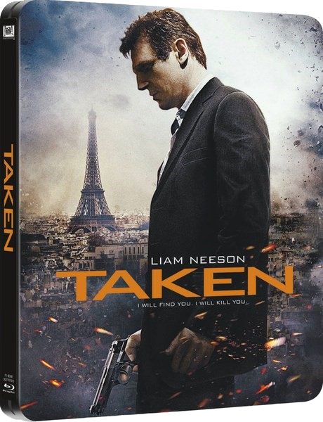 Заложница / Taken (2008) WEB-DLRip-AVC | D | Open Matte
