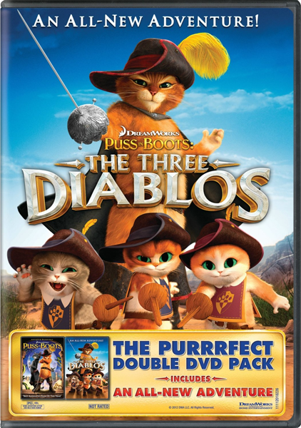 Кот в сапогах: Три Чертенка / Puss in Boots: The Three Diablos (2011) BDRip 720 от SuperMin
