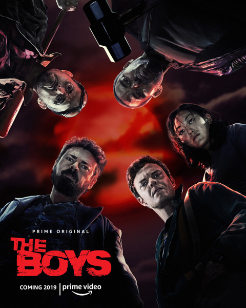 Пацаны / The Boys [S01] (2019) WEB-DL 720p | Кубик в Кубе
