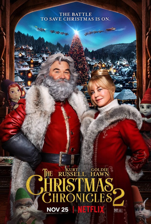 Рождественские хроники 2 / The Christmas Chronicles 2 (2020) WEB-DLRip-AVC | Netflix